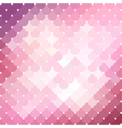 Pink mosaic background 2 vector image