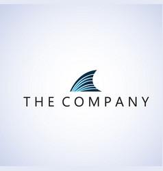 Shark logo ideas design vector