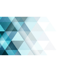 Abstract triangular symmetrical background vector
