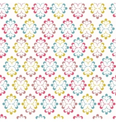 Seamless wallpaper with abstract ornament vector