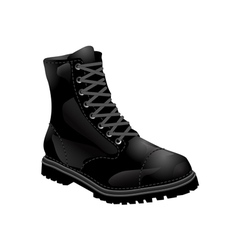 Boots army vector