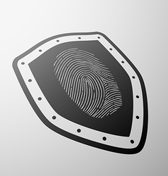 Fingerprint stock vector