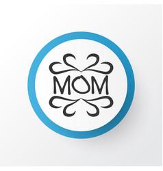 design icon symbol premium quality isolated mam vector image vector image