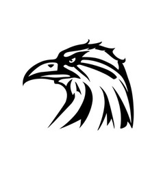 Eagle tattoo vector image