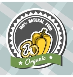 Natural Food 7 vector image vector image