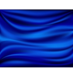 Abstract texture blue silk vector