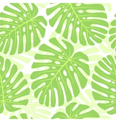 Tropical plant background vector