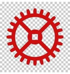 Clock Gear Icon vector image