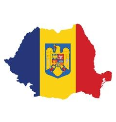 Romania flag vector