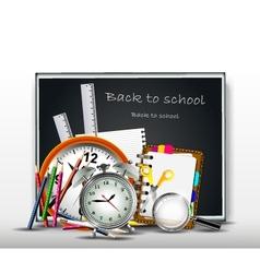 School supplies for you design vector image vector image