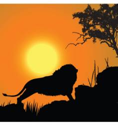 King of nature vector