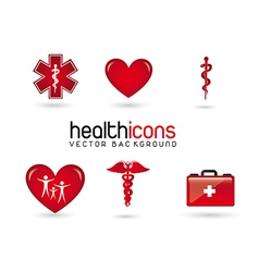 Health icons vector