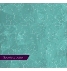 Abstract seamless icy-blue pattern vector