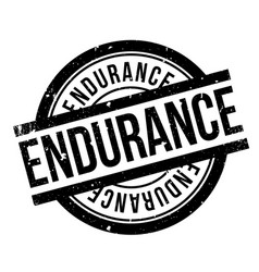 Endurance rubber stamp vector