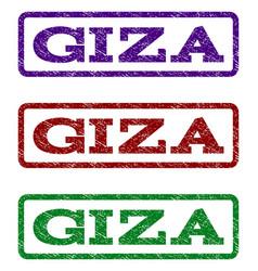 Giza watermark stamp vector