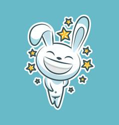 Sticker emoji emoticon emotion walk hang out vector