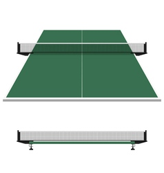 Table tennis ping pong net vector image