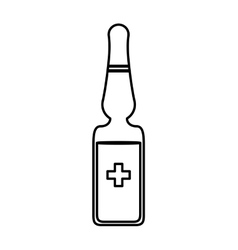 Dropper icon medical and health care vector