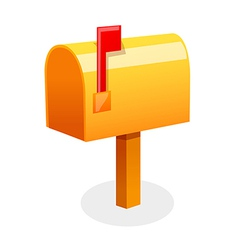 letter box vector image vector image