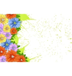nature border vector image vector image