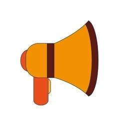single megaphone icon vector image vector image