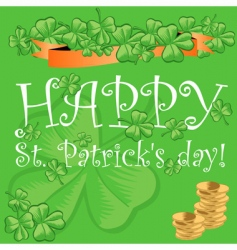 St Patrick's day vector image vector image