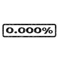 0000 percent watermark stamp vector image