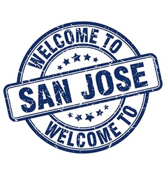 Welcome to san jose vector