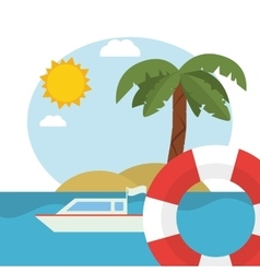 Vacations and summer design vector