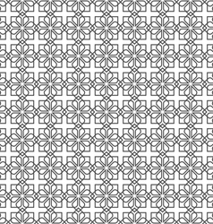 Arabic delicate pattern vector image vector image