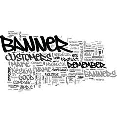 Banner design do it like a pro text word cloud vector