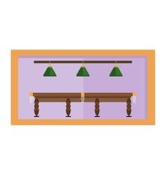 Billiards game equipment vector image