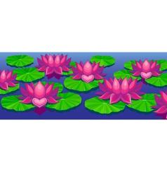 Lotuses vector