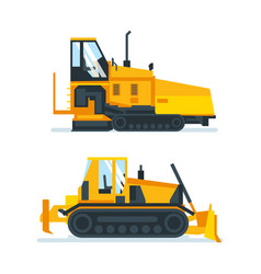 machines trucks vehicles for transportation vector image