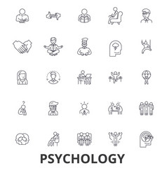 psychology psychologist counseling test vector image
