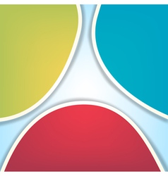 rgb abstract background vector image vector image