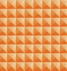 Triangle orange jewel texture seamless background vector