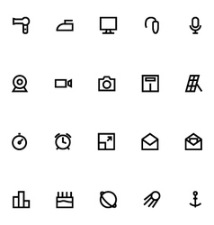 Apple watch icons 16 vector