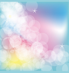 color bubbles background icon vector image