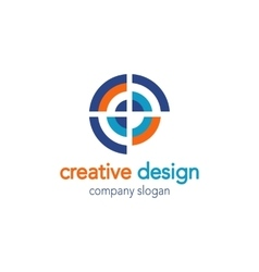 Creative Design Logo vector image