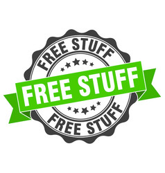 Free stuff stamp sign seal vector