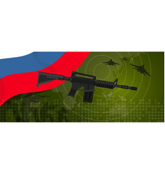 Russia military power army defense industry war vector