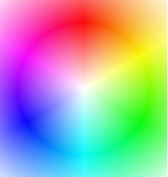 Smooth abstract rainbow gradient background vector