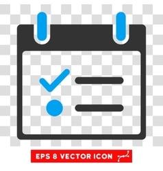 Todo List Calendar Day Eps Icon vector image vector image