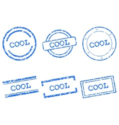 Cool stamps vector