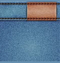Denim texture vector