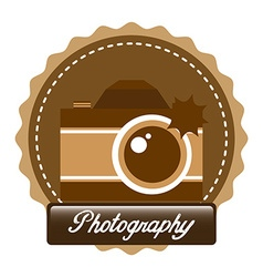 old style photograph vector image vector image