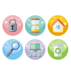 User interface icons set isolated on white vector