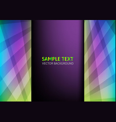 Colorful abstract with copy space vector