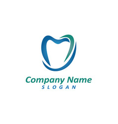 Dentist logo 2 vector